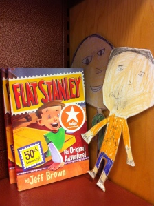 Look who we found! Susie now owns a copy of the Flat Stanley book.